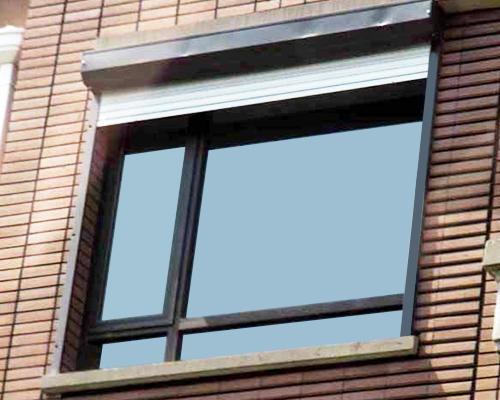 建筑一体化遮阳窗