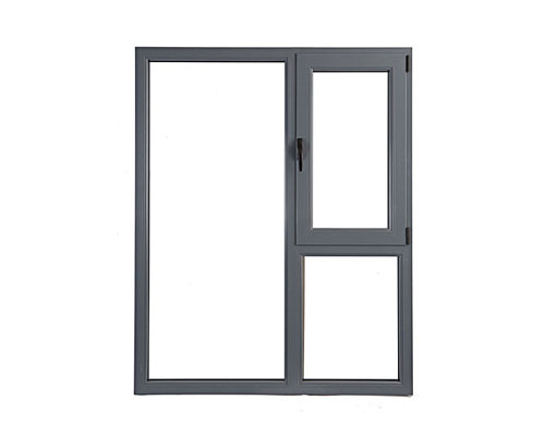 塑钢一体化窗