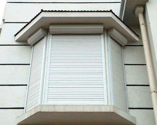 户外电动铝百叶窗